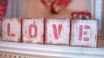 Wood Letter Blocks