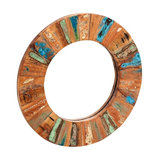 Driftwood Large Framed Wall Mirror, 85 cm