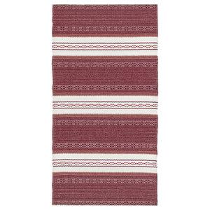 Astor Vinyl Floor Cloth, Pink, 70x120 cm