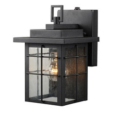 Hardware House Large Lantern, Textured Black