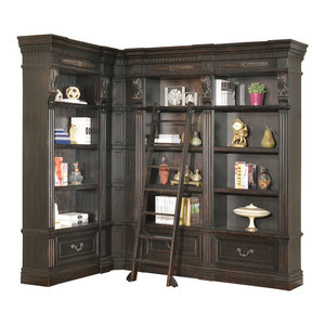 Parker House Grand Manor Palazzo 3 Piece Set Corner Museum Bookcase  Parker House