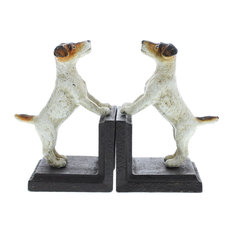 AREOhome - Jack Russell Bookends, - Bookends