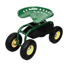 Garden Planting Rolling Cart