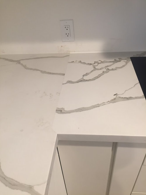 Quartz Countertop Seam
