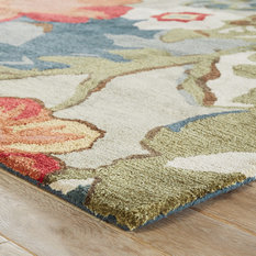 MOD - Pauline Hand-Tufted Floral Rug, 8'x10' - Area Rugs