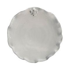Fleur-de-Lis Dinner Plates Set of 4. Microwave-safe Plastic Plate  sc 1 st  Houzz & Most Popular Microwave-safe Plastic Plate | Houzz for 2018 | Houzz