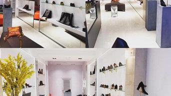 Boutique de calzado y complementos en el centro de Pamplona