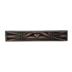 Arrowhead Pewter Cabinet Hardware Pull, Bronze