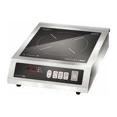 Caso Design Pro Chef 1800 Commercial-Grade Single Induction Burner, 12360