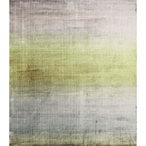 Linie Grace Rug, Green and Silver, 140x200 cm