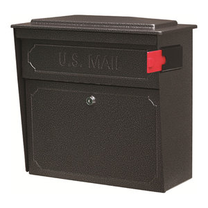 Mail Boss Townhouse Security Locking Wall Mount Mailbox, Galaxy