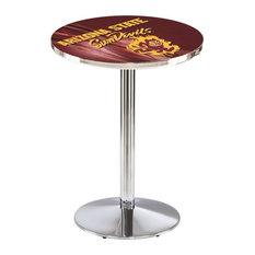 Arizona State Pub Table with Sparky Logo 36-inchx42-inch by Holland Bar Stool Company