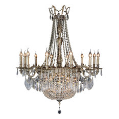 AICO 24Lights Summer Palace Chandelier