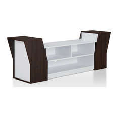 Ezra Contemporary 70-inch Wenge Storage TV Stand