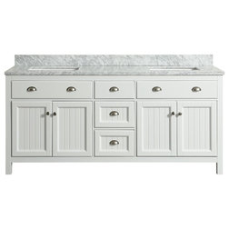 Beach Style Bathroom Vanities And Sink Consoles by Houzz