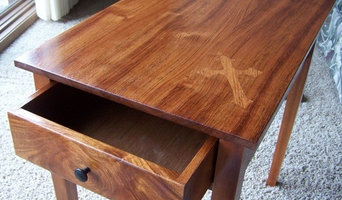 Jatoba (South American Cherry) side table