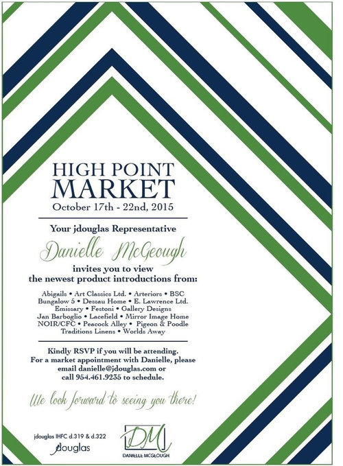 you re invited to high point market make sure to rsvp danielle