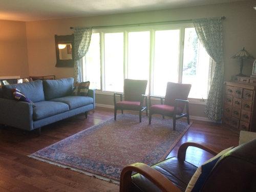 Help! Split Level Living Room Dilemma