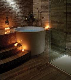 Finding A Circular Japanese Soaking Tub Houzz Uk