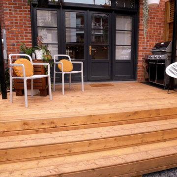 Full backyard patio and garden renovation