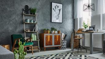 Rénovation d'une chambre Peintures et Sol