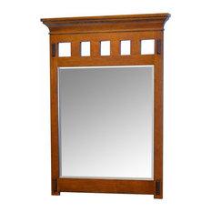 Delightful Sagehill Designs   American Craftsman Mirror, Rustic Oak   Bathroom Mirrors