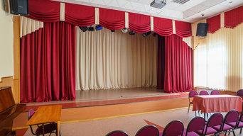 Одежда сцены для актового зала
