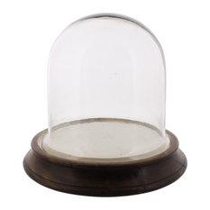 Chatham Vitrine Glass Display Dome, Small