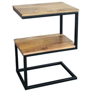 Ravi S-Shape Side Table