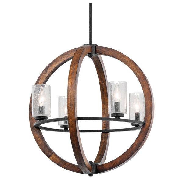 LNC Farmhouse Adjustable Mason Jar Chandelier Bronze Pendant Lights for Kitchen, Dining Room, A03224