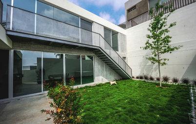 Casas Houzz: Diseñada para disfrutar al 100 % del exterior