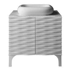 Zinc Bathroom Vanity zinc counter bathroom vanities | houzz