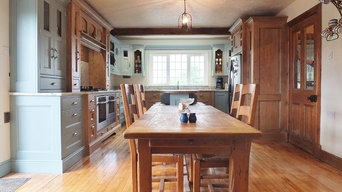 Inframe Painted and Character oak Kitchen