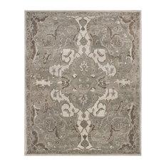 Rugsville Nolan Persian-Style Gray Wool Rug 39015 8'x10'