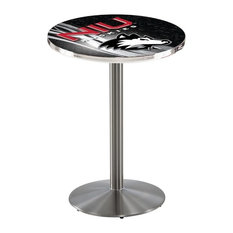 Northern Illinois Pub Table 36-inchx42-inch by Holland Bar Stool Company