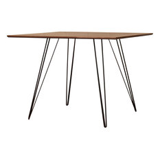 Williams  Rectangle Dining Table - Black, Small, Walnut