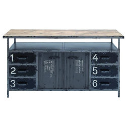 Industrial Entertainment Centers And Tv Stands by Brimfield & May