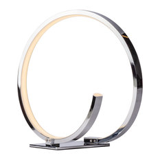 Circular Design, Round LED Table Lamp