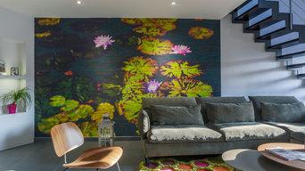Projet d'aménagement espace séjour, cuisine et salon à