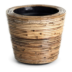 """Wrapped Dry Basket Planter, 13.75"""""""