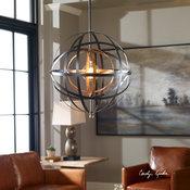 Uttermost Rondure 1-Light Sphere Pendant