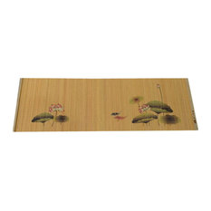 Painting Bamboo Mat Tea Tablecloth Table Runner Japanese Tea Accessories