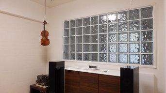プチ防音の音楽練習室