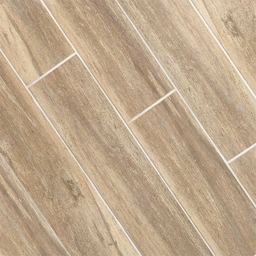 Birch Wood Plank Porcelain Wall And Floor Tile