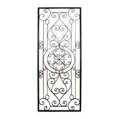 Wrought Iron Wall Hangings traditional metal wall art | houzz