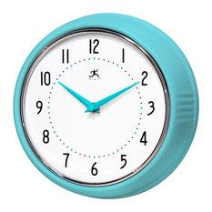 Infinity Instruments Retro Kitchen Vintage 50s Wall Clock, Tqse