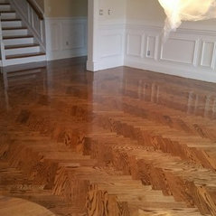 Custom Installed Hardwood