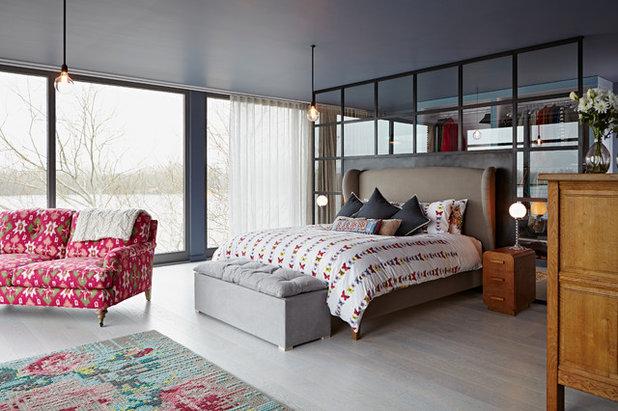 la camera da letto diventa un rifugio per il giorno e la notte - Divani Per Camera Da Letto