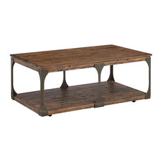 Coffee Table with Casters in Distressed Bourbon finish