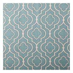Designer Roman Shades Plain Fold, 72Wx61H, Donetta Cascade
